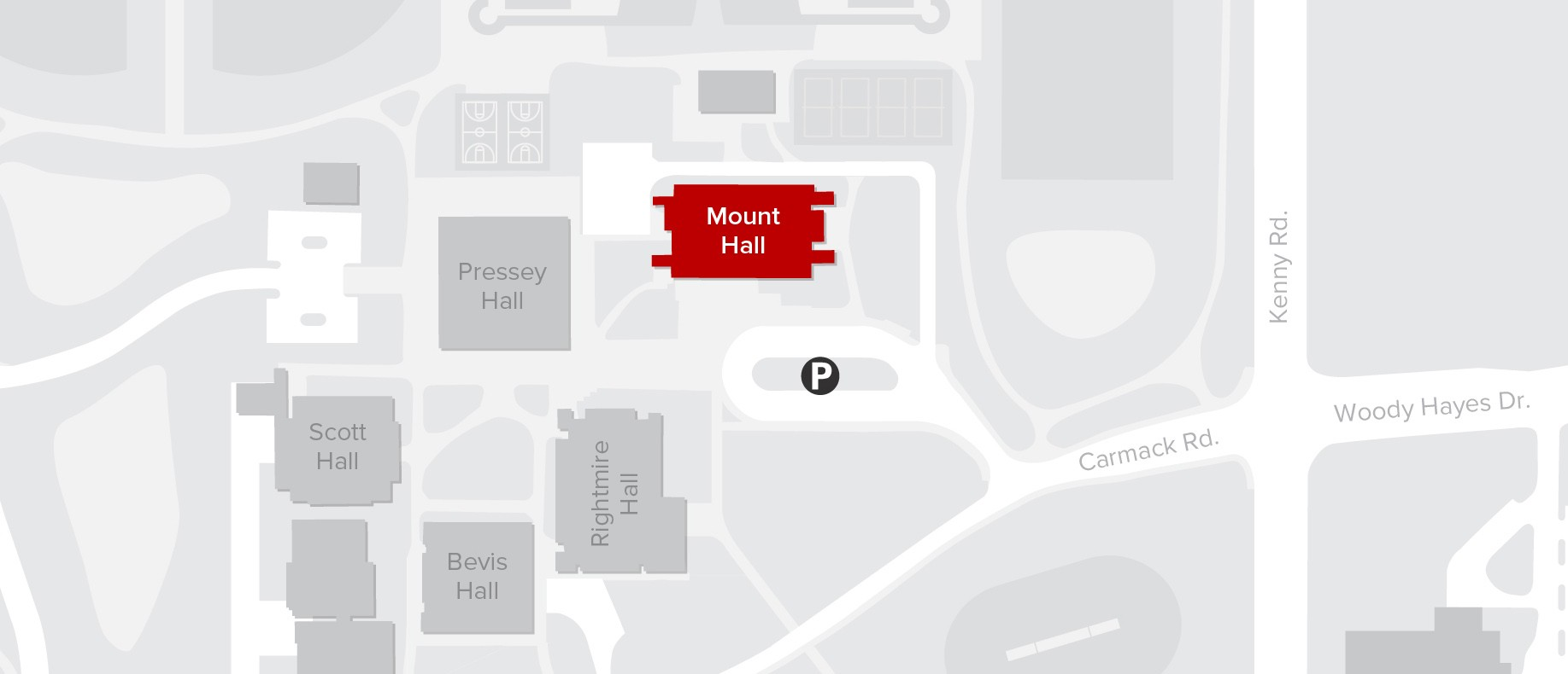 Mount Hall Map